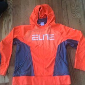 Nike elite sweatshirt size L